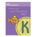 Horizons Kindergarten Phonics & Reading Student Book 1